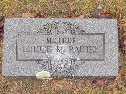Louise <i>Lange</i> Radtke
