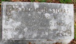 Elizabeth <i>Storrs</i> Sparrow