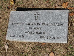 Andrew Jackson Rosenbaum
