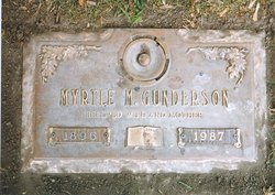 Myrtle M. <i>Johnson</i> Gunderson