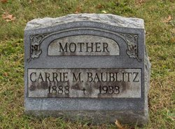 Carrie May <i>Plymire</i> Baublitz