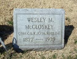 Wesley Milton McCloskey