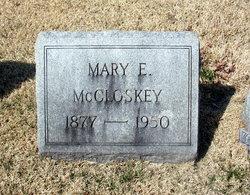 Mary E <i>Wilson</i> McCloskey