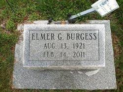 Elmer G Burgess