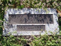 Mary Elizabeth Lib <i>McInturff</i> Buckley
