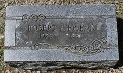 Robert Reece Friend