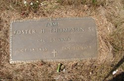Foster Hale Tom Thompson, Sr