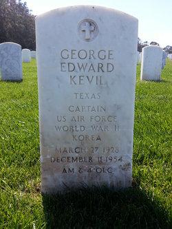 Capt George Edward Kevil