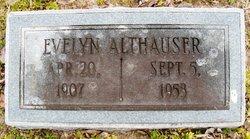 Evelyn <i>Clark</i> Althauser