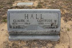 Gertrude M Hall