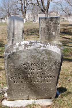 Sarah <i>Westgate</i> Carr
