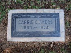 Carrie E. <i>Lott</i> Akers