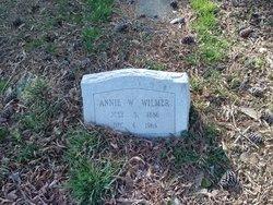 Annie W Wilmer