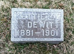 Nettie <i>Clinesmith</i> DeWitt