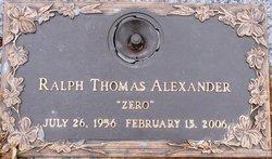 Ralph Thomas Zero Alexander