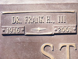 Dr Frank H Stelling, III