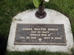 James <i>Walter</i> Boelk