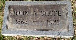 John A Shope