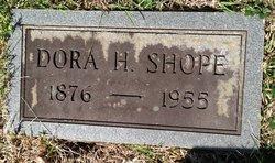 Dora H Shope