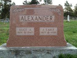Alice A. <i>Pratt</i> Alexander