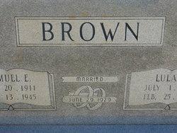 Lula <i>Frye</i> Brown