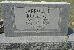Carroll Edward Rogers