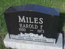 Harold F Miles