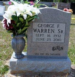 George F Warren, Sr
