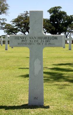 PVT Henry Van Heukelom
