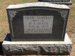 Lillie <i>Norvell</i> Beach