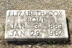 Elizabeth <i>Cox</i> Bolt