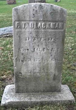 Frederick Timothy Timothy Blackman