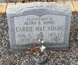 Carrie Mae Adams