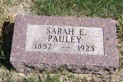 Sarah E. <i>Lizer</i> Pauley