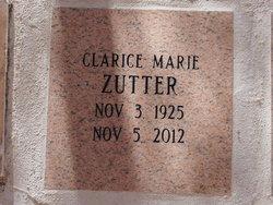 Clarice M <i>Cornhill</i> Zutter