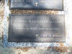 Pauline Nana <i>Fertitta</i> Allen