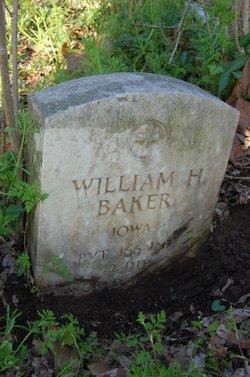 Pvt William H. Baker