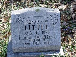 Leonard Waldon Little
