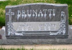 Franceska Fannie <i>Rudman</i> Brunatti