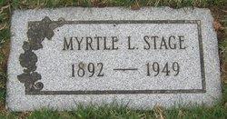 Myrtle Lena <i>Frank</i> Stage