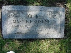 Mary Elizabeth F. <i>Watson</i> Bushnell