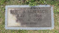 Ruby J. Alberson