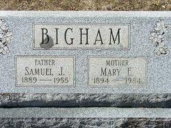 Mary E Bigham