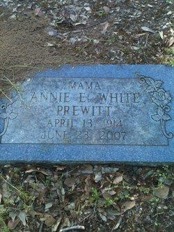 Annie E <i>White</i> Prewitt