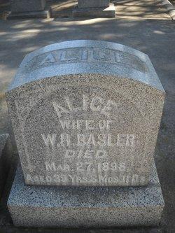 Alice <i>Fisher</i> Basler