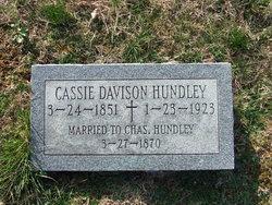 Cassie Ellen <i>Davison</i> Hundley
