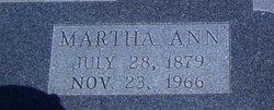 Martha Ann Finch