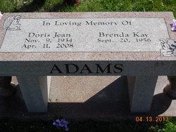 Doris Jean <i>Adkins</i> Adams
