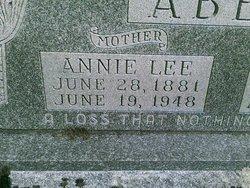 Anna Lee <i>Harmon</i> Abell