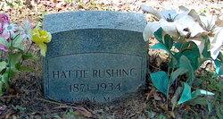 Harriet Catherine Hattie Rushing